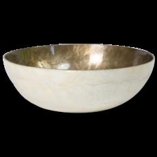 Salad Bowl- Capiz Shell-Silver Lining (Indonesia)