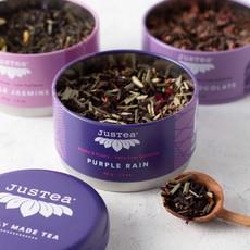 Tea- Black Purple-Tea Trio Tin Case (Kenya)