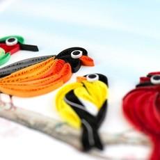 Quilling Cards- Songbirds (Vietnam)