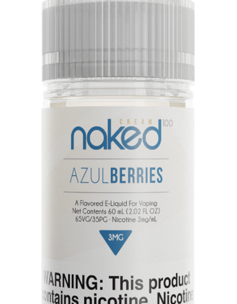 Naked 100 Naked 100 Cream & Fusion's 60ml E-Juice