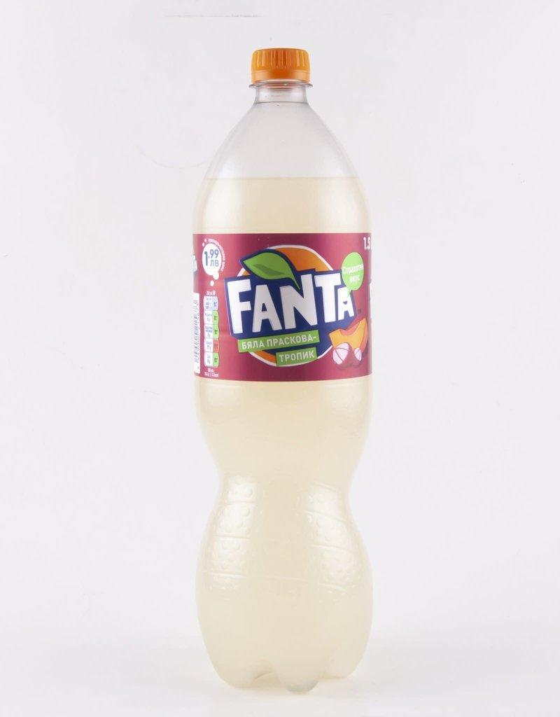 Exotic Soda Co. Exotic Soda Fanta Peach 2 Liter