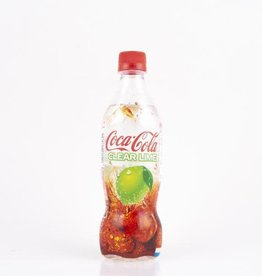 Exotic Soda Co. Exotic Soda Coca Cola Clear Lime