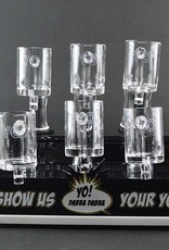 Yo Dabba 25mm Flat Top Quartz Nail