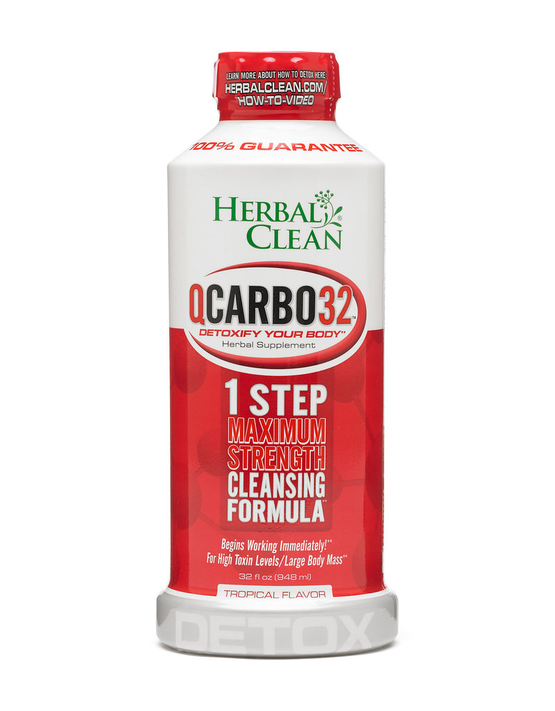 Herbal Clean Herbal Clean Q-Carbo 16oz Detox Drink