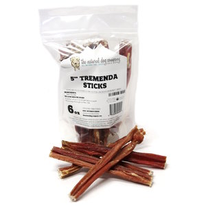 "The Natural Dog Company Natural Tremenda Sticks Bag 5"" 6oz"