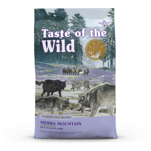 Diamond Taste of the Wild Grain Free Sierra Mountain Dog Kibble