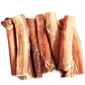 "The Natural Dog Company Natural 6"" Jumbo Bully Sticks odor free 16oz"
