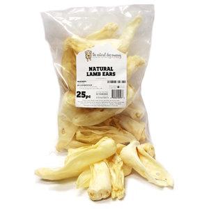 The Natural Dog Company Natural Lamb Ear Bag 25ct