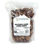The Natural Dog Company Natural Lamb Lung Cubes 12oz