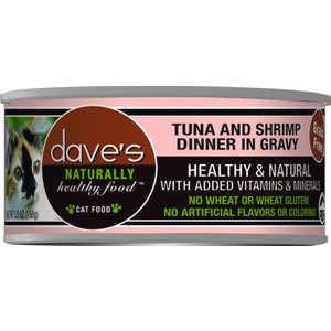 Dave's Dave's Cat Can Tuna Shrimp 5.5oz