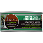 Dave's Dave's Cat can Turkey Giblets 3oz