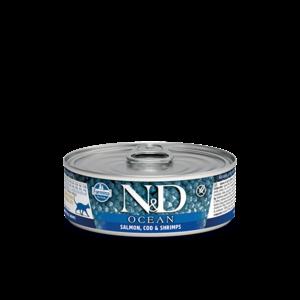 FARMINA PET FOOD USA LLC Farmina Cat Salm Cod Shrimp 2.8z can