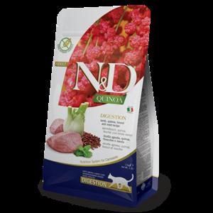 FARMINA PET FOOD USA LLC Farmina Cat Kibble Quinoa Digest Lamb 3.3#