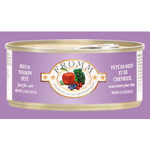 Fromm Fromm Can Cat Beef/Venison 5.5oz