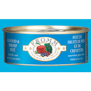 Fromm Fromm Can Cat Seafood/Shrimp 5.5oz
