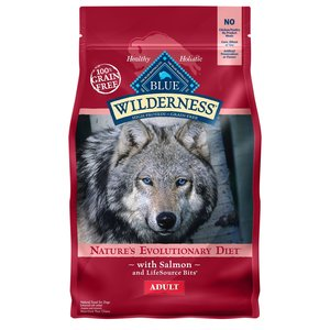 Blue Buffalo Blue Buffalo Wilderness Grain Free Dog Kibble Salmon