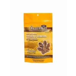 Real Meat Company Real Meat Treats Chicken Veni 4oz