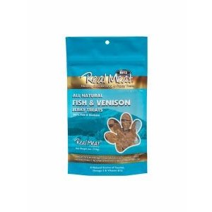 Real Meat Company Real Meat Treats fish venison 4oz