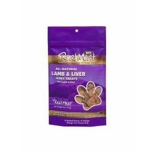 Real Meat Company Real Meat Treats lamb liver 4oz