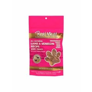 Real Meat Company Real Meat Treats lamb venison 4oz