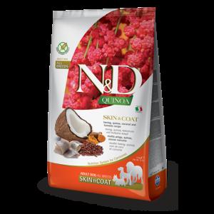 FARMINA PET FOOD USA LLC Farmina Dog Kibble Quinoa Herring Skin & Coat