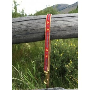"Upcountry Upcountry Red Jackson Hole Lead 5/8"" narrow"