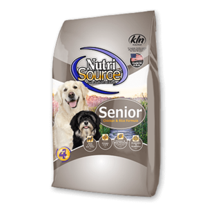 Nutrisource NutriSource Dog Kibble Senior chicken & rice 30#