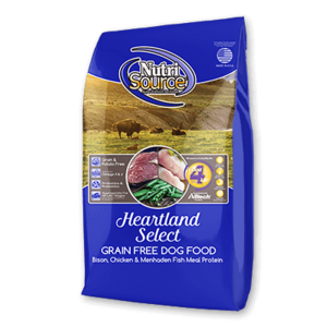 Nutrisource NutriSource Grain Free Dog Kibble Heartland Beef 30#