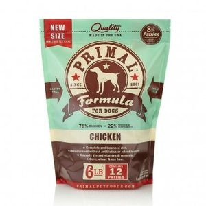 Primal Primal Chicken Patties 6#