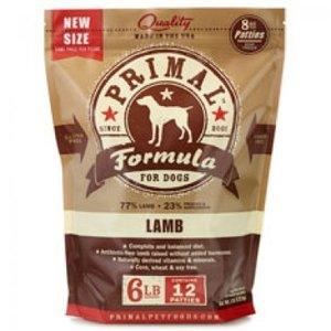 Primal Primal Lamb Patties 6#