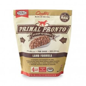 Primal Primal Pronto Dog Lamb 4#