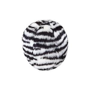 Fluff n Tuff Fluff n Tuff Zebra Ball Lrg