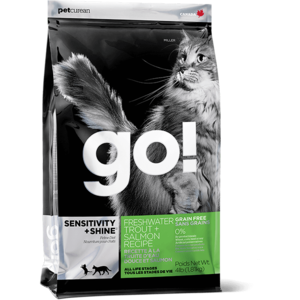 Petcurean Go GF Trout LID Cat