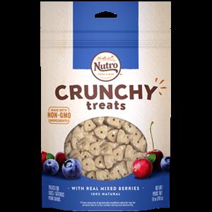 Nutro Nutro Crunchy Treats mixed berry 16oz