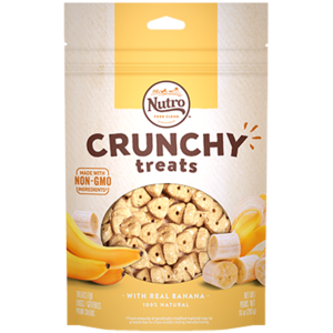 Nutro Nutro Crunchy Treats Banana 10oz