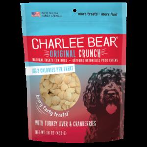 Charlee Bear Charlee Bears 16oz turkey liver cranberries