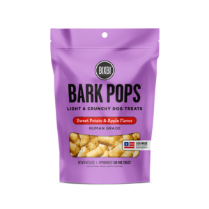 Bixbi Bixbi D Bark Pops Sweetpot Apple  4oz