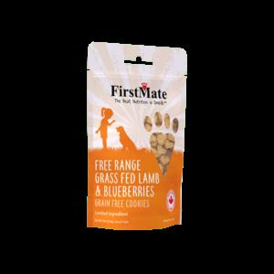 FirstMate First Mate Free Range Lamb Blueberry Treats 8oz