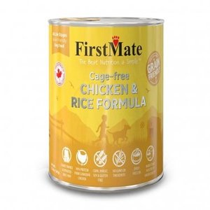 FirstMate First Mate Friendly Dog Can chic rice 12.2oz