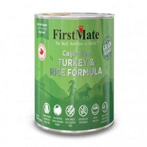 FirstMate First Mate Friendly Dog Can turk rice 12.2oz
