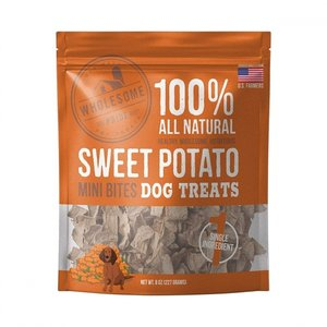 Outward Hound Wholesome Pride Sweet Potato Mini Bites 8oz