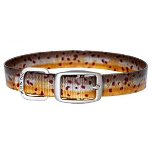 Outward Hound Koa Brown Trout Collar