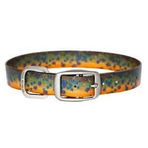 Outward Hound KOA Brook Trout Collar large 18-26""