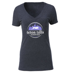 Ouray Ouray Womens V-Neck T-shirt Grey