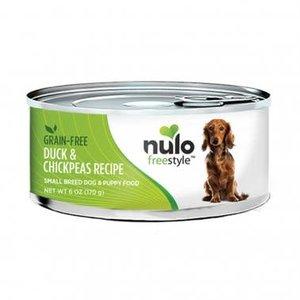 Nulo Nulo GF Dog Can Sm Breed Duck 6oz