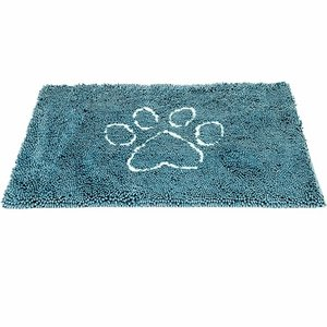 Dog Gone Smart Dirty Dog Doormats Pacific Blue