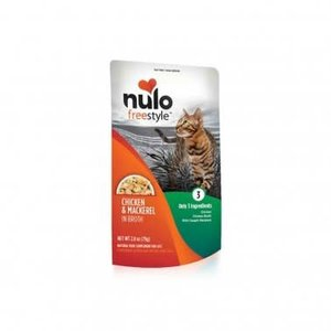 Nulo Nulo GF Cat Pouch Chk Mac 2.8oz
