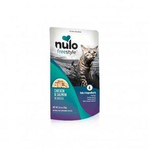 Nulo Nulo GF Cat Pouch Chk Salmon 2.8oz