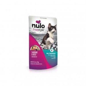 Nulo Nulo GF Cat Pouch Sard Beef 2.8oz