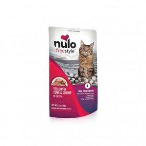 Nulo Nulo GF Cat Pouch Tuna Shrimp 2.8oz